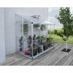 lean to 8x4 greenhouse 2