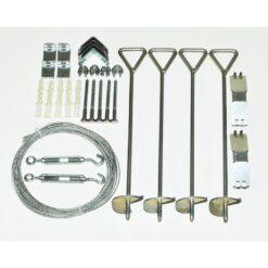 Greenhouse Anchoring Kit 4
