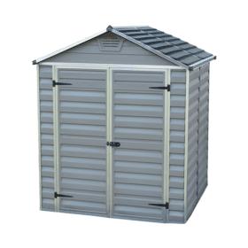 Skylight Storage Sheds 6x5 Grey