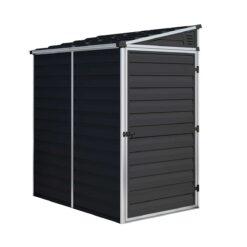 Pent Storage Shed 4x6 Midnight Grey