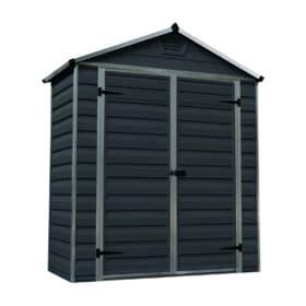 Skylight Storage Sheds 6x3 Midnight Grey