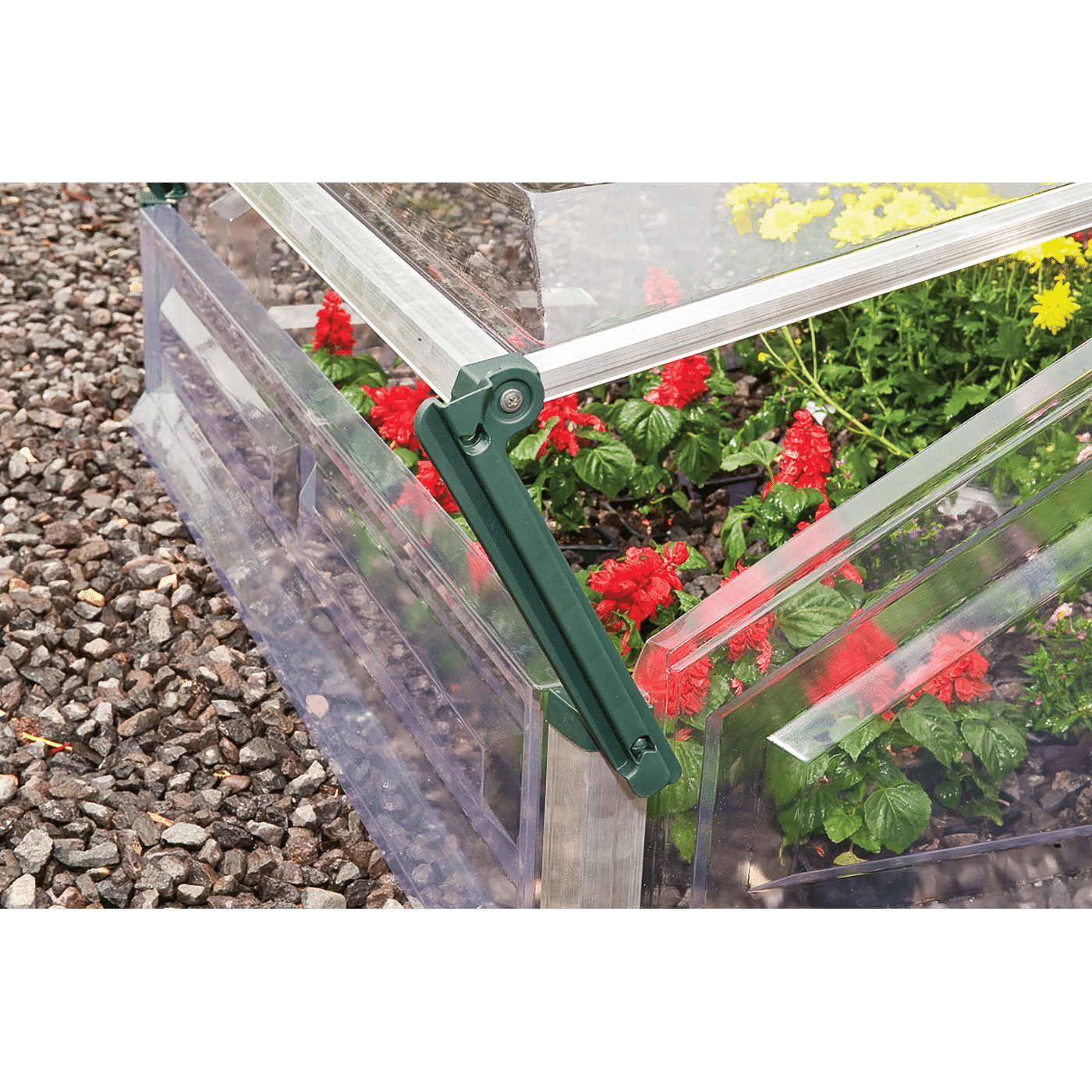 Double Cold Frame Greenhouse 3x3 105x108cm 187 Tip Top Yards