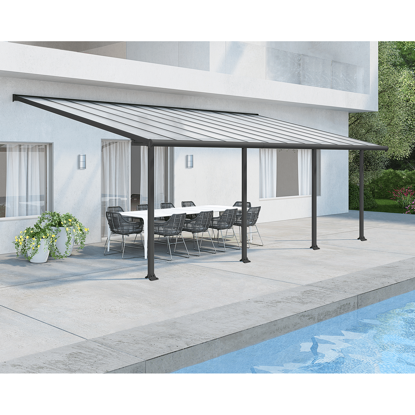 Olympia Pergola 187 Tip Top Yards