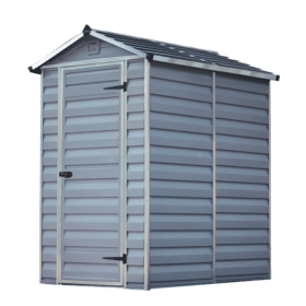 Skylight Storage Sheds 4x6 Grey