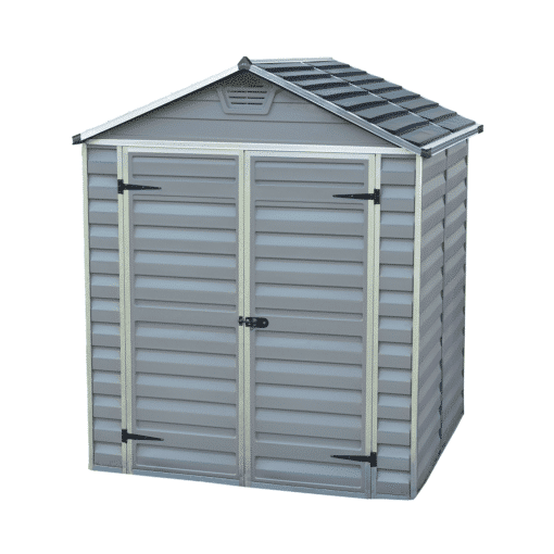 Skylight Storage Sheds 6x5 Grey